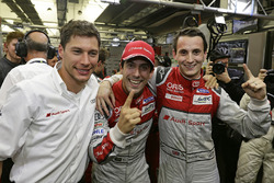 Polesitters #8 Audi Sport Team Joest Audi R18: Lucas di Grassi, Loic Duval, Oliver Jarvis