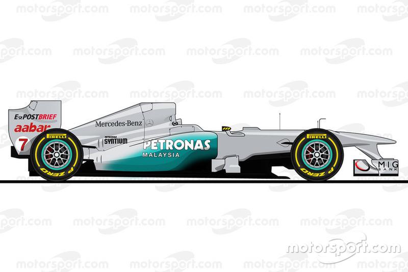 2011赛季:梅赛德斯W02