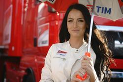 Hot Ducati girl