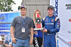 Second place Dean Stoneman, Andretti Autosport