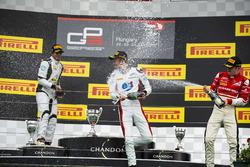 Alexander Albon, ART Grand Prix, Arjun Maini, Jenzer Motorsport and Charles Leclerc, ART Grand Prix