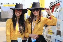 Lovely JK Tyre girls