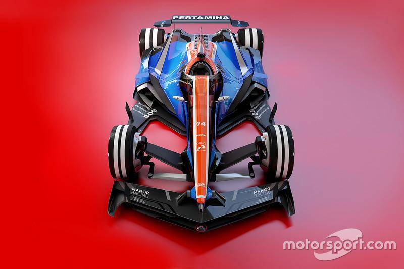 Manor Racing 2030 fantasy design
