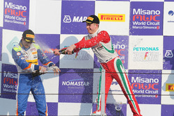 Kush Maini, BVM Racing and Juri Vips, Prema Powerteam