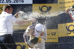 Podium: Stefan Reinhold , BMW Team RMG and Timo Glock, BMW Team RMG, BMW M4 DTM
