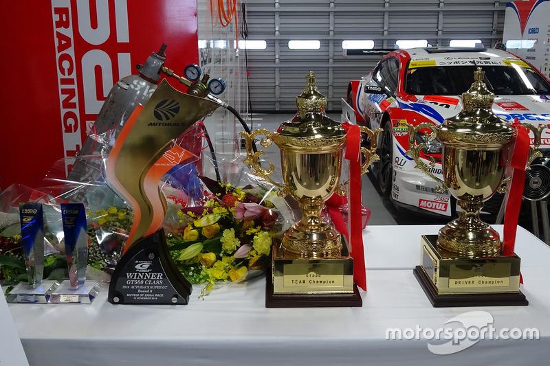 スーパーGT GT500クラスチャンピオントロフィー(#39 DENSO KOBELCO SARD RC F)