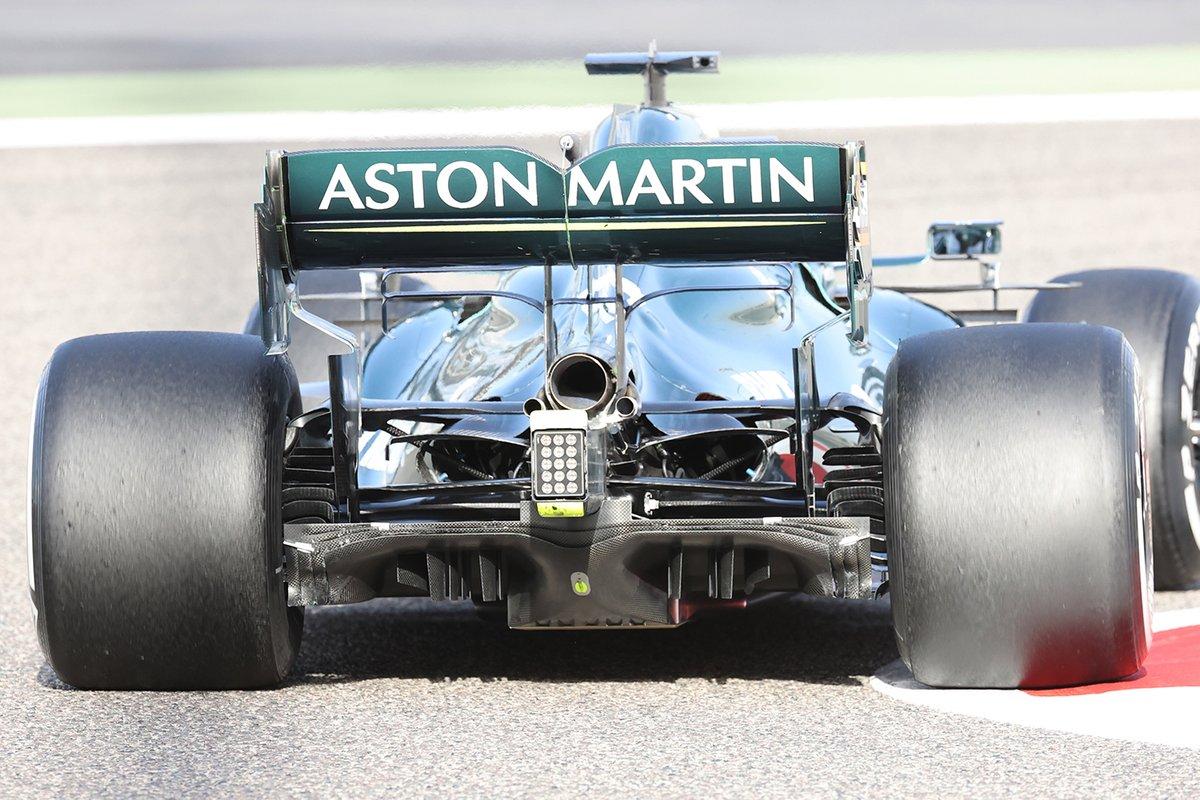 Aston Martin AMR21, dettaglio del diffusore