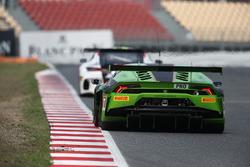 #19 GRT Grasser Racing Team Lamborghini Huracan GT3: Luca Stolz, Michele Beretta
