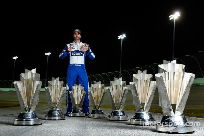 10. Champion Jimmie Johnson, Hendrick Motorsports Chevrolet