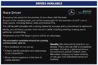Anzeige von Mercedes AMG F1
