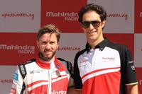 Formula E Photos - Nick Heidfeld and Bruno Senna, Mahindra Racing