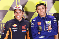 MotoGP Photos - Marc Marquez, Repsol Honda Team, Valentino Rossi, Yamaha Factory Racing