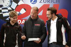 #8 Haribo Racing Team - AMG, Mercedes-AMG GT3: Uwe Alzen, Maximilian Götz, Jan Seyffarth