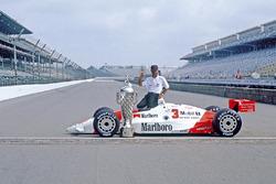 Race winner Rick Mears, Team Penske PC20 Chevrolet