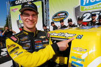 NASCAR Truck Photos - Race winner Grant Enfinger, GMS Racing Chevrolet