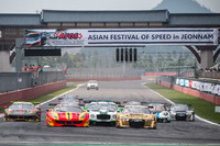 Asian GT Photos - Race 2 start action