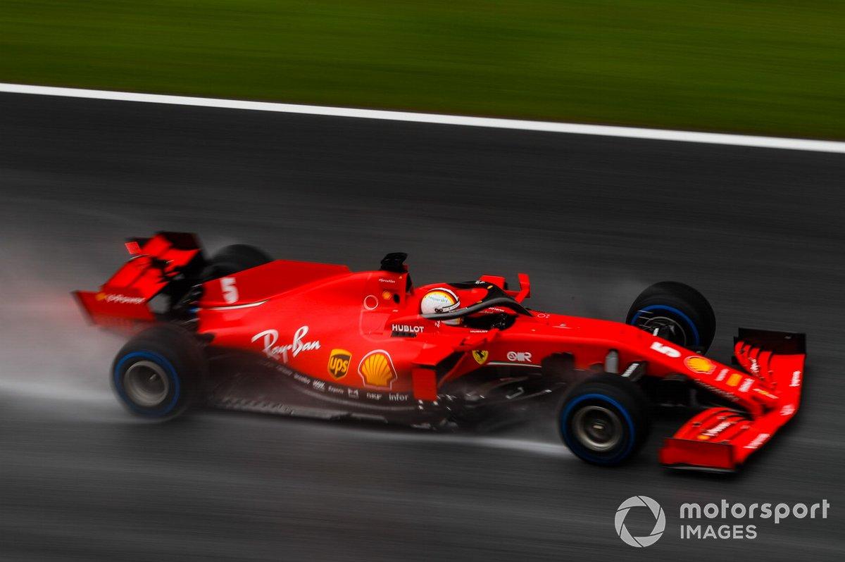 Ferrari acknowledges the loss of engine power: