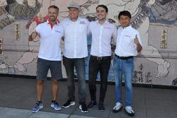 WTCC道上龍とホンダのドライバーたち