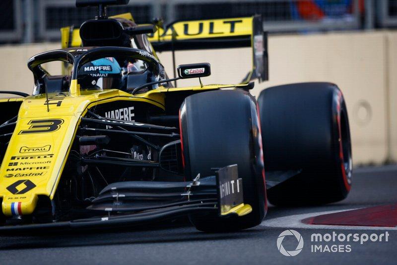 Daniel Ricciardo pénalisé sur la grille du GP d'Espagne — Officiel