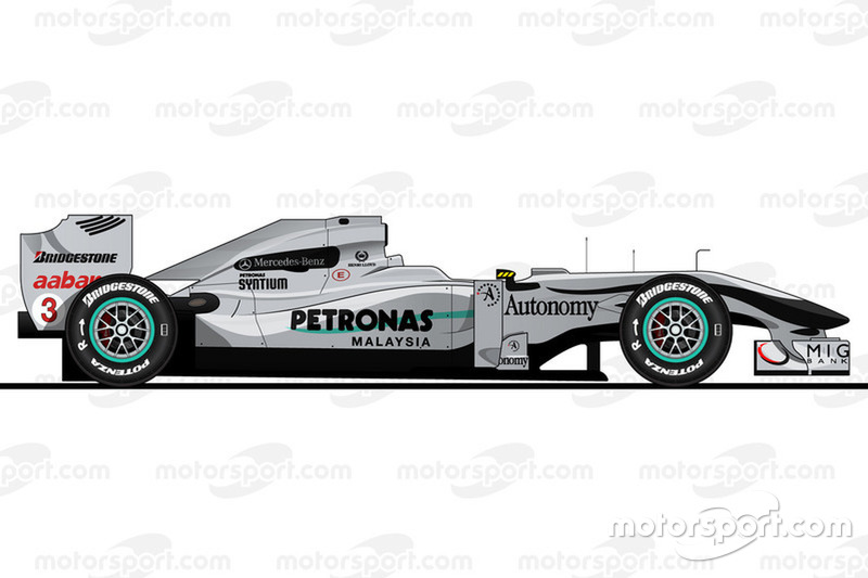 2010赛季:梅赛德斯W01