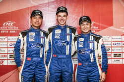 2.0T Class qualifying TOP3- Andy Yan,Dan Wells,Rainey He-ChangAn Ford Team