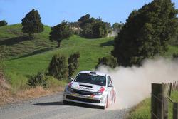 Mike Young, Malcolm Read, Subaru Impreza WRX, Cusco Racing team