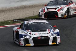 #25 Sainteloc Racing Audi R8 LMS: Romain Monti, Edward Sandström