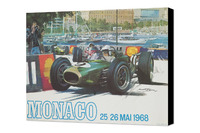 General Photos - Vintage Monaco GP poster