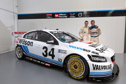 Scott McLaughlin, David Wall and James Moffat, James Golding, Garry Rogers Motorsport, Volvo S60