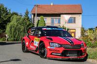 ERC Фото - Ян Копецки и Павел Дреслер, Skoda Fabia R5