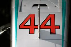 Mercedes AMG F1 W07 Hybrid of Lewis Hamilton, Mercedes AMG F1