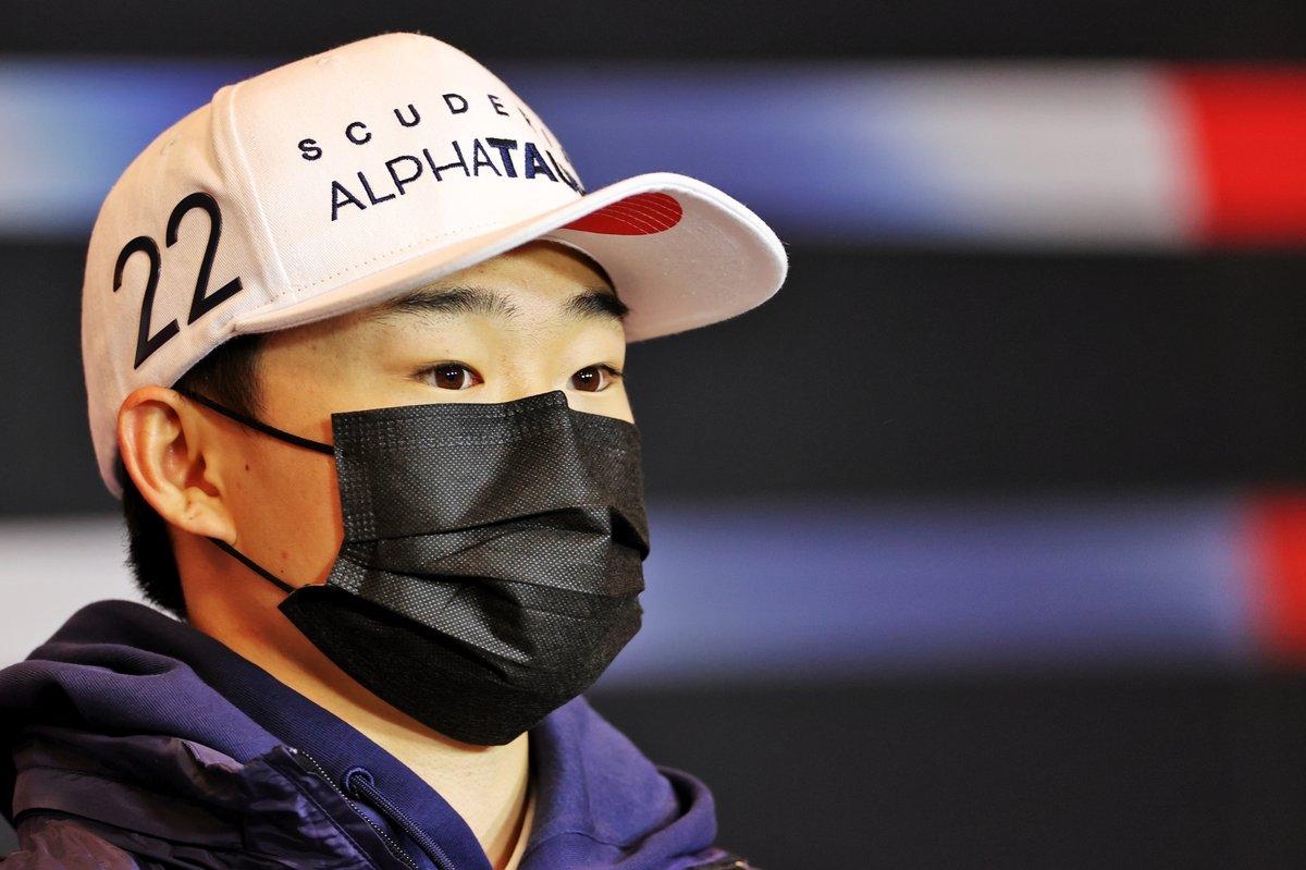Yuki Tsunoda, AlphaTauri in the Press Conference