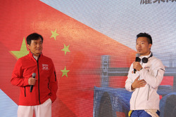Jackie Chan and David Cheng