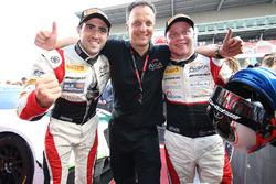 Race winners #88 AKKA ASP Mercedes AMG GT3: Tristan Vautier, Felix Rosenqvist, Jérôme Policand, AKKA ASP Team owner