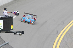 #01 Chip Ganassi Racing Riley DP Ford: Lance Stroll, Alexander Wurz, Brendon Hartley, Andy Priaulx takes the checkered flag