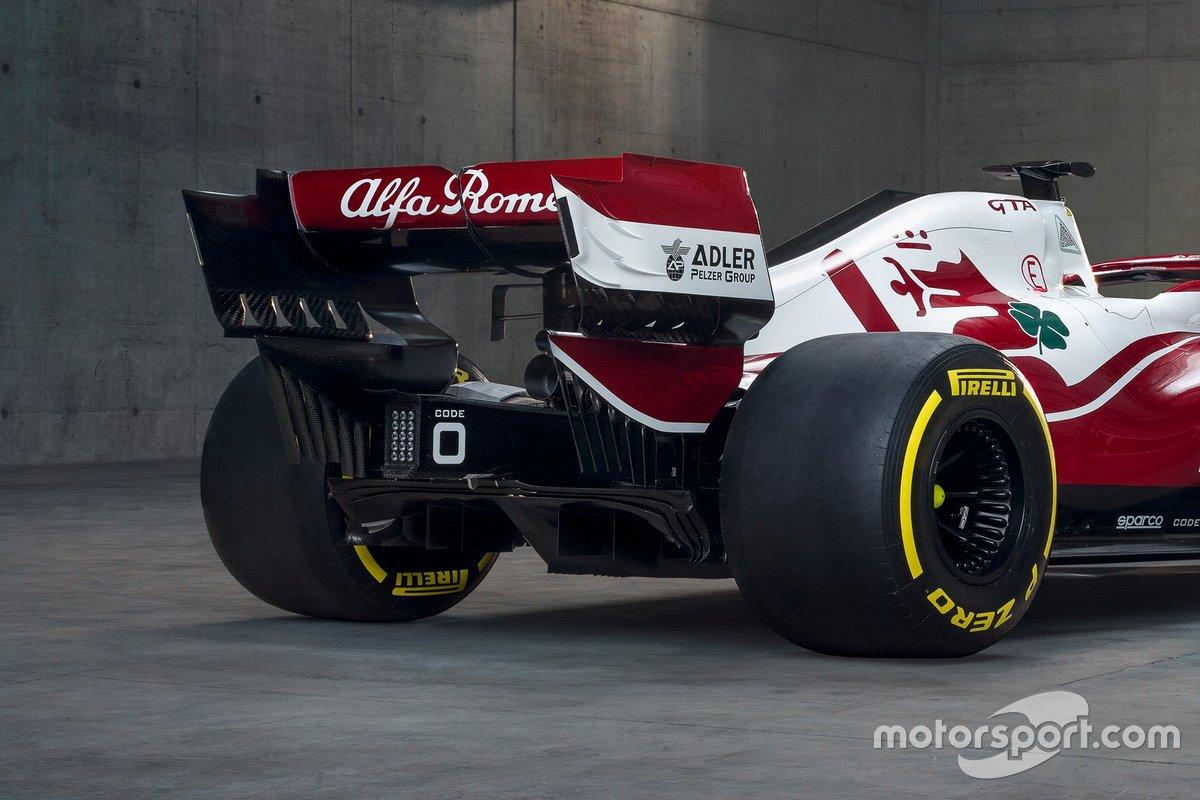 Alfa Romeo Racing C41 rear