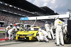 Pit stop Timo Glock, BMW Team RMG, BMW M4 DTM
