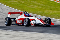 USF2000 Photos - Joel Miller testing the new Tatuus USF-17