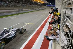 Race winner Nico Rosberg, Mercedes AMG F1 Team W07