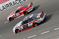 Ryan Reed, Roush Fenway Racing Ford, Brad Keselowski, Team Penske Ford
