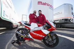 Max Biaggi, Team Principal Mahindra Racing and Mufaddal Choonia, CEO, Mahindra Racing