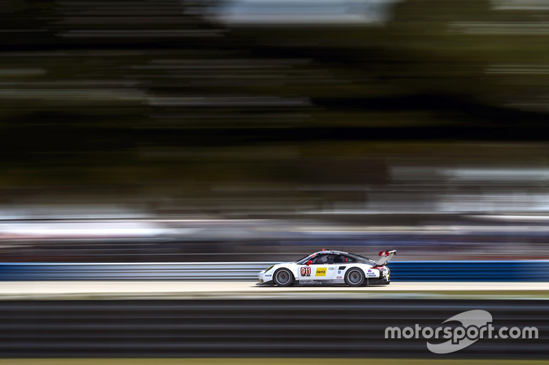 6. #911 Porsche Team North America Porsche 911 RSR: Nick Tandy, Patrick Pilet, Kevin Estre