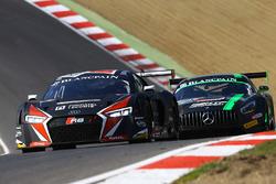 #33 Belgian Audi Club Team WRT Audi R8 LMS ultra: Enzo Ide, Christopher Mies