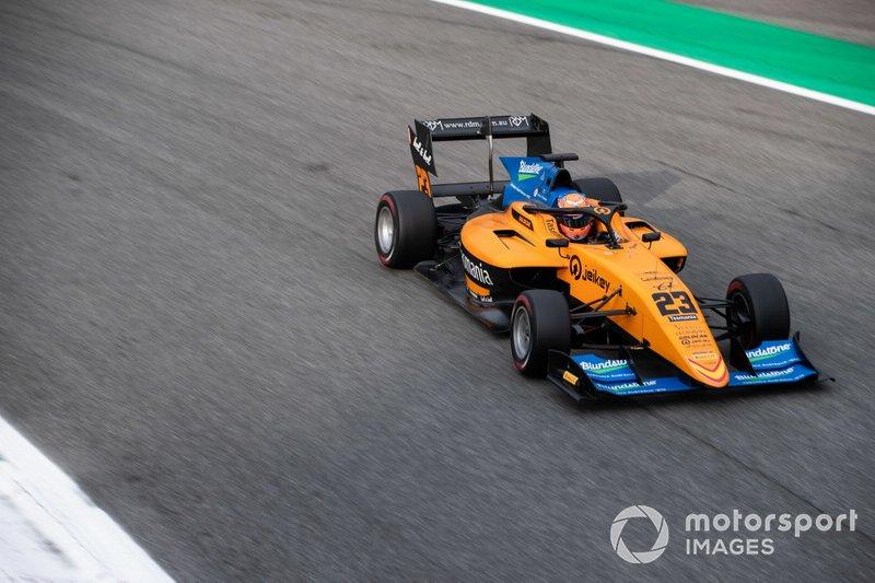 Australian F3 driver Alex Peroni walks away from terrifying crash at Monza