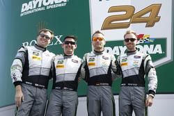 #44 Magnus Racing Audi R8 LMS: John Potter, Andy Lally, Marco Seefried, René Rast