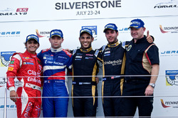 Podium: winner Roy Nissany, second place Matthieu Vaxivière, third place Rene Binder, best Rookie Pietro Fittipaldi