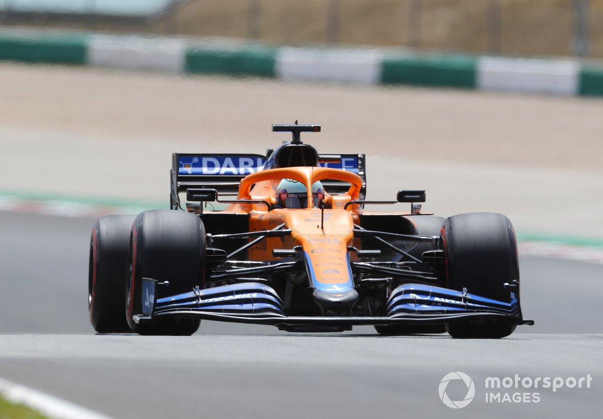 P16 Daniel Ricciardo, McLaren MCL35M