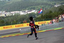 Carlos Sainz Jr., Scuderia Toro Rosso retired from the race