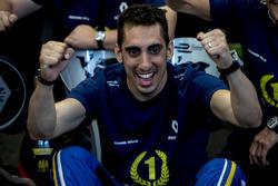 Sébastien Buemi, Renault e.Dams celebrate