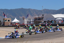 Diego LaRoque leads Micro-Max into turn 1